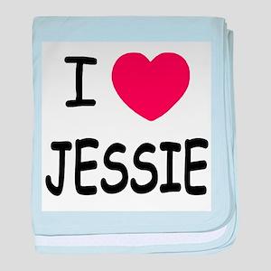 I heart Jessie baby blanket
