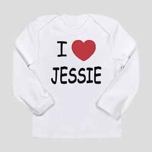 I heart Jessie Long Sleeve Infant T-Shirt