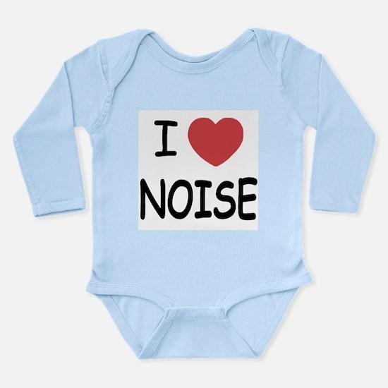 I love noise Long Sleeve Infant Bodysuit