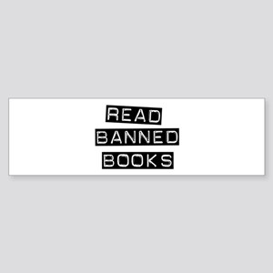 Read Banned Books Bumper Sticker