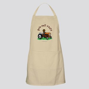Dark Orange Farmer Apron