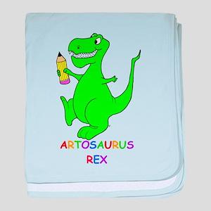 Artosaurus Rex baby blanket