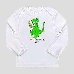 Artosaurus Rex Long Sleeve Infant T-Shirt