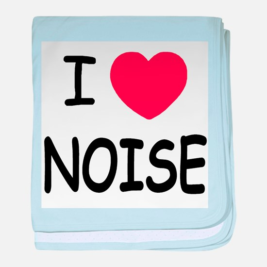 love noise baby blanket