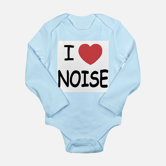 love noise Long Sleeve Infant Bodysuit