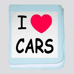 love cars baby blanket