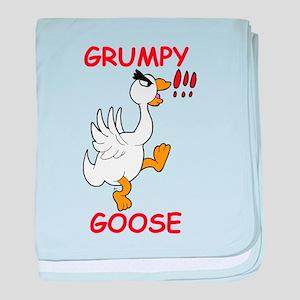 Grumpy Goose baby blanket