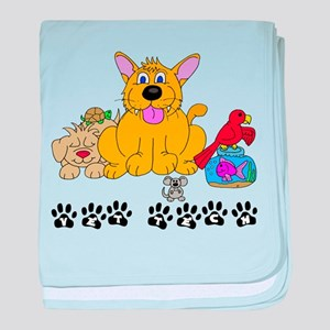 Pet Vet Tech baby blanket