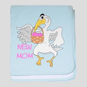 Pink Baby Girl New Mom baby blanket