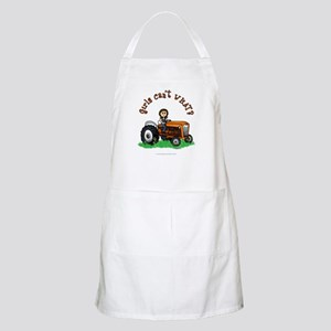 Light Orange Farmer Apron