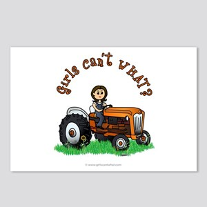 Light Orange Farmer Postcards (Package of 8)