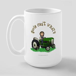 Light Green Farmer Large Mug