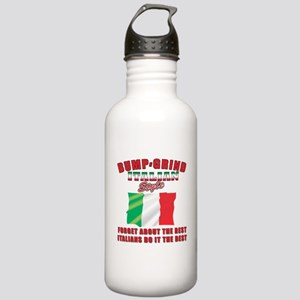 Italian bump and grind Stainless Water Bottle 1.0L