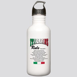 Italians Rules Stainless Water Bottle 1.0L