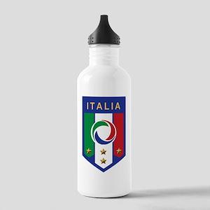 Italian Soccer emblem Stainless Water Bottle 1.0L