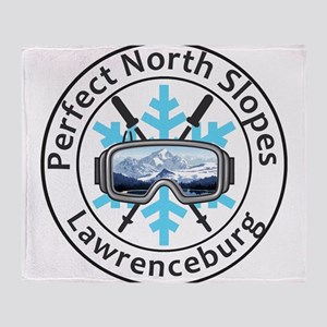 Perfect North Slopes - Lawrencebur Throw Blanket