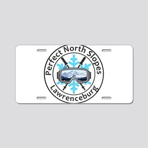 Perfect North Slopes - La Aluminum License Plate