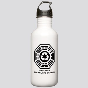 DHARMA Recycling Station Stainless Water Bottle 1.
