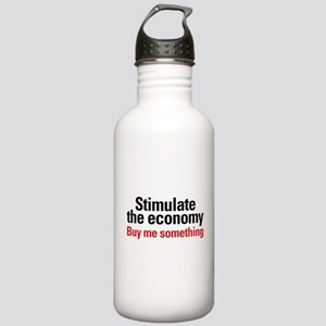 Stimulate The Economy Stainless Water Bottle 1.0L