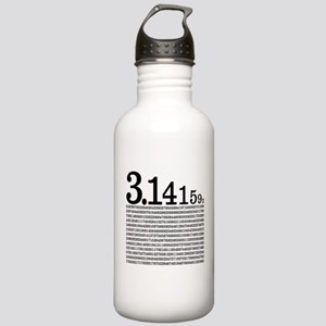 3.1415926 Pi Stainless Water Bottle 1.0L