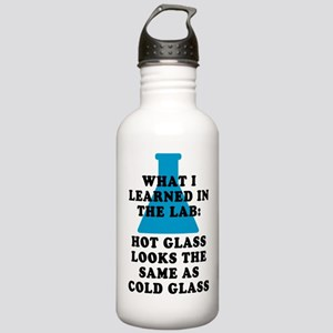 Lab Glass Stainless Water Bottle 1.0L