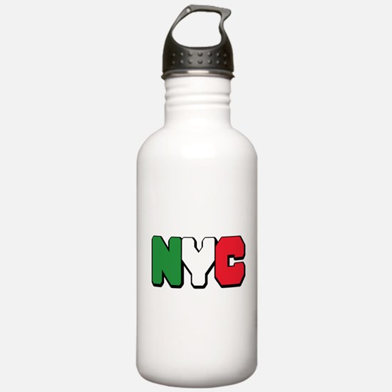 New York Italian pride Water Bottle
