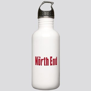North End Boston,MA Stainless Water Bottle 1.0L