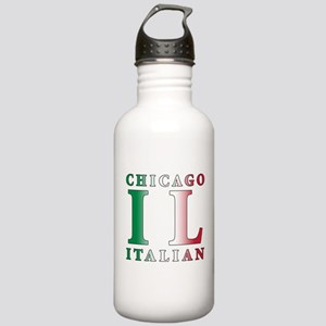 Chicago Italian Stainless Water Bottle 1.0L