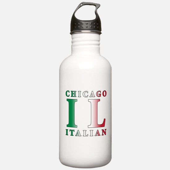 Chicago Italian Water Bottle