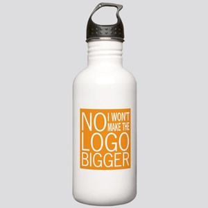 No Big Logos Stainless Water Bottle 1.0L