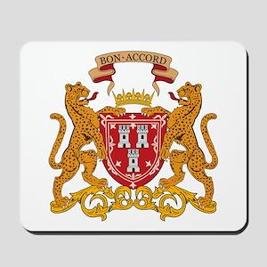 Aberdeen Coat of Arms Mousepad