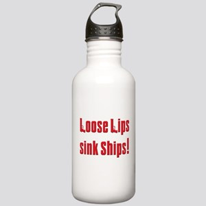 Soprano Loose lips sink ship Stainless Water Bottl