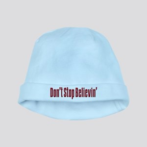 Don't stop believin baby hat