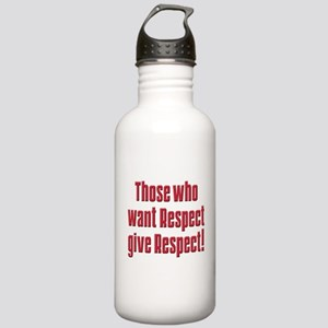 Demand respect Stainless Water Bottle 1.0L