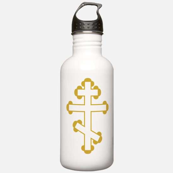 Orthodox Plain Cross Water Bottle