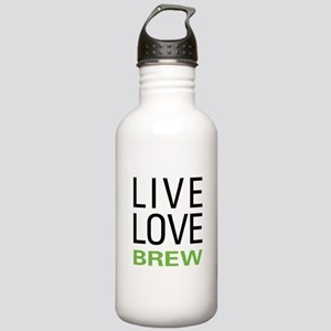 Live Love Brew Stainless Water Bottle 1.0L