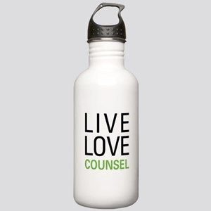 Live Love Counsel Stainless Water Bottle 1.0L