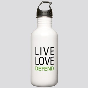 Live Love Defend Stainless Water Bottle 1.0L