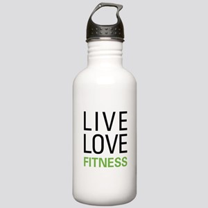 Live Love Fitness Stainless Water Bottle 1.0L