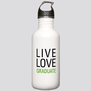 Live Love Graduate Stainless Water Bottle 1.0L