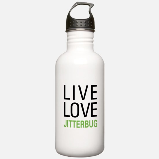 Live Love Jitterbug Water Bottle