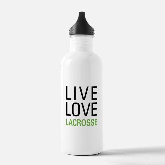 Live Love Lacrosse Water Bottle