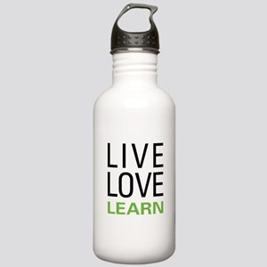 Live Love Learn Stainless Water Bottle 1.0L
