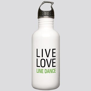 Live Love Line Dance Stainless Water Bottle 1.0L