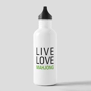 Live Love Mahjong Stainless Water Bottle 1.0L