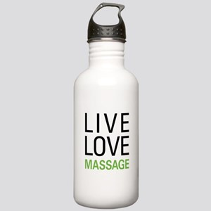 Live Love Massage Stainless Water Bottle 1.0L