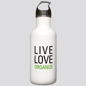 Live Love Organize Stainless Water Bottle 1.0L