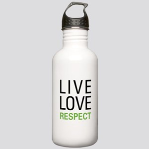Live Love Respect Stainless Water Bottle 1.0L