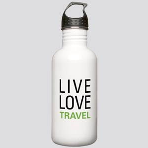 Live Love Travel Stainless Water Bottle 1.0L
