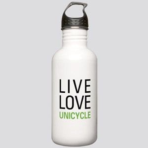 Live Love Unicycle Stainless Water Bottle 1.0L